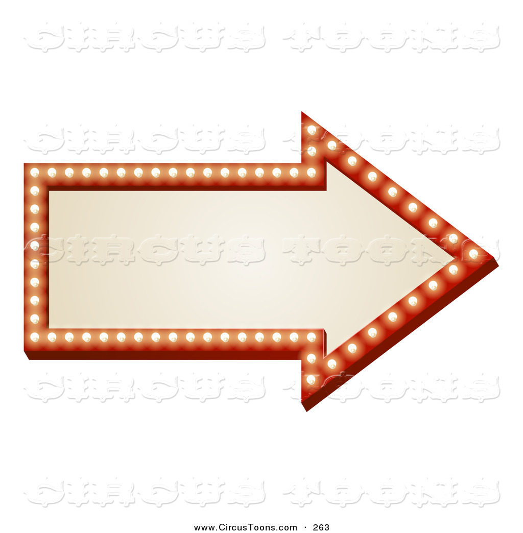 Right clipart more Pointing Clipart arrows Illuminated Circus