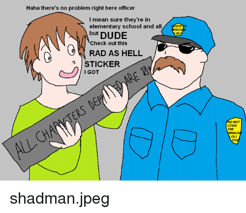 Right clipart no problem 25+ About no officer Dude