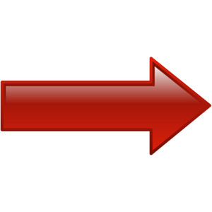 Right clipart red arrow Red art clip red image