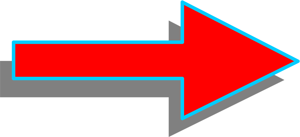 Right clipart red arrow : right red arrow of