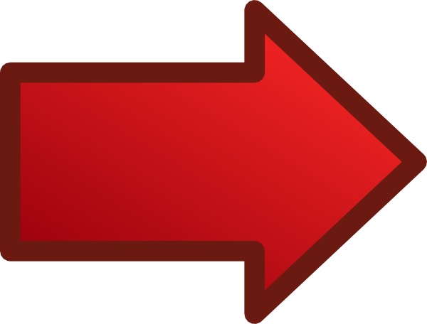 Right clipart red arrow Art Red as: this Right