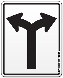 Right clipart road sign Lanes: Laws or Road Markings