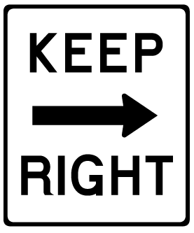 Right clipart road sign Signs Clipart Clip Free Collection
