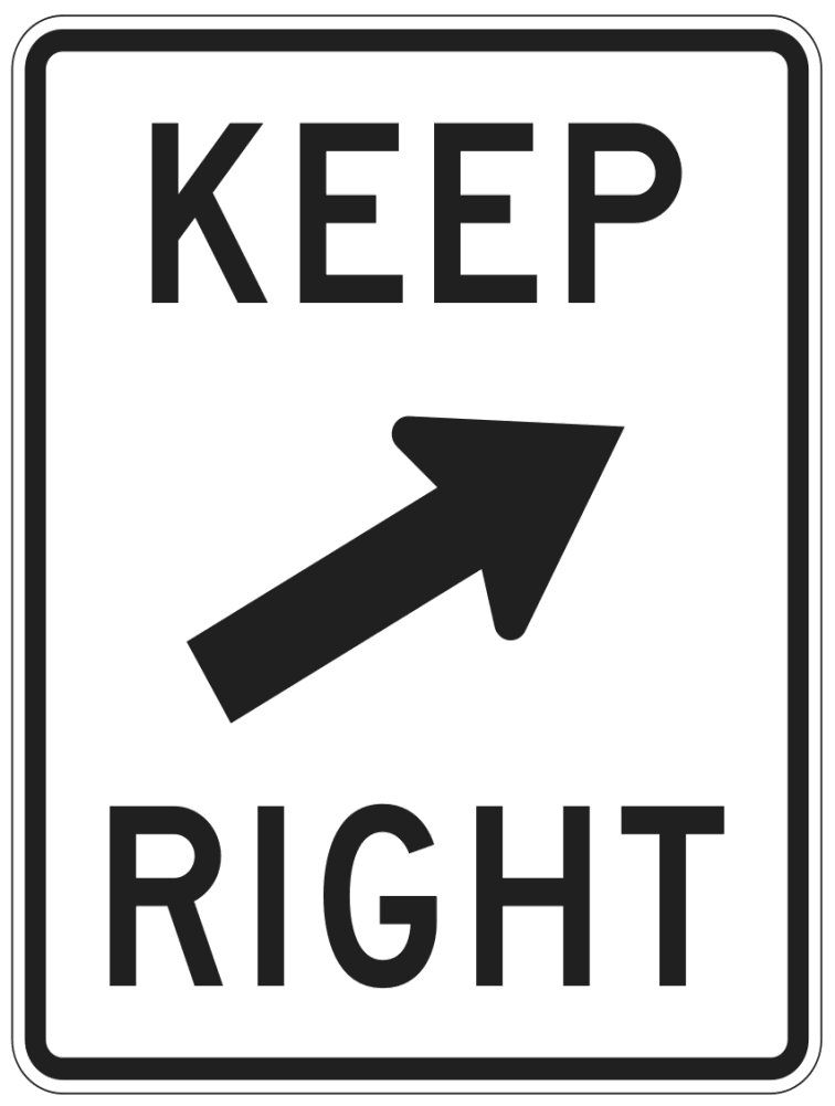 Right clipart road sign  sign clipart Road Clip