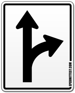 Right clipart road sign Regulatory or Turn Turn Traffic