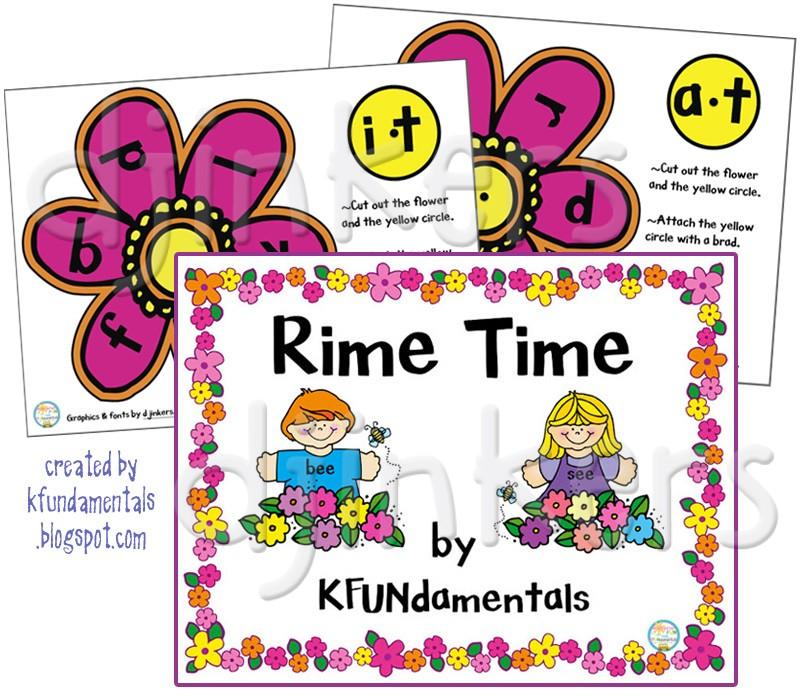 Rime clipart Kids borders rime whole sayings