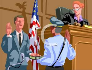 Rime clipart bailiff Witness cliparts Trial Clipart Witness