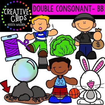 Rime clipart child stealing Consonant BB Double images {Creative
