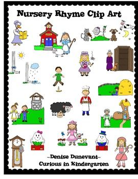Rime clipart child stealing  Rhyme Art Nursery on