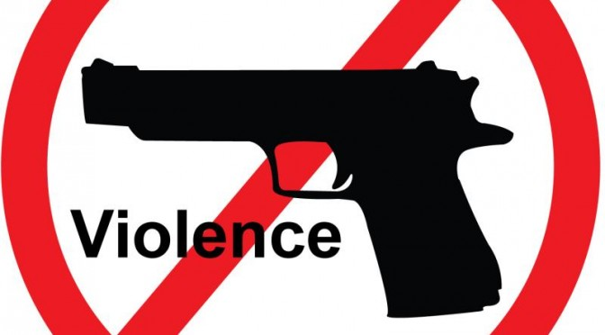 Violence clipart handgun Stop gun Guns CHURCH America