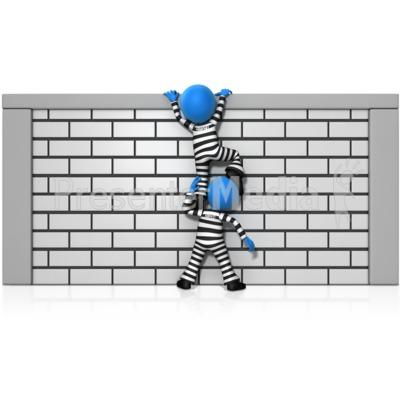 Rime clipart inmate Inmate Art Clip Escape Clipart