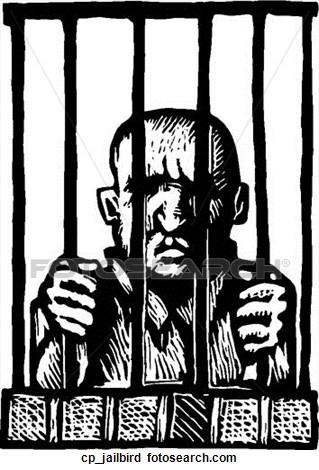 Rime clipart jailbird Clipart  Jailbird