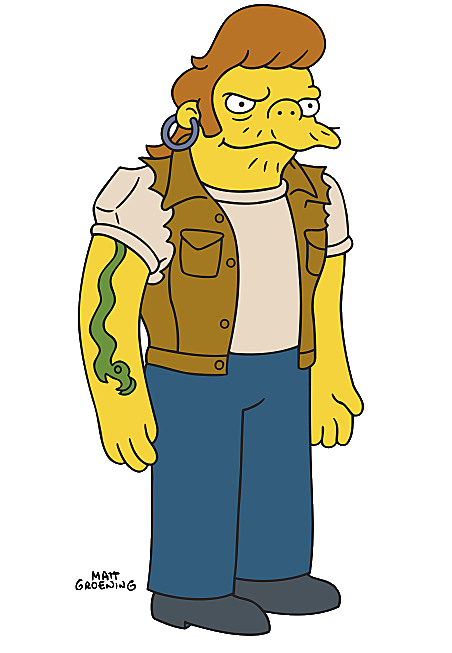 Satanic clipart small snake Image Simpsons by png Wikia