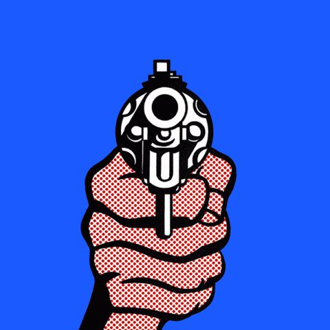 Rime clipart pistol Pinterest images Animal gif on