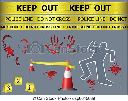 Rime clipart police investigation Clip Crime clipart you images