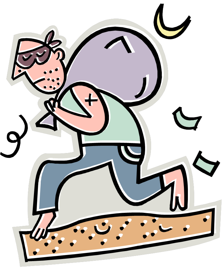 Rime clipart robbery Library Clipart Disincentive Robber A
