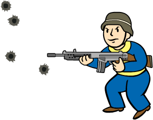 Sniper clipart commando Powered Wikia Wiki  Fallout