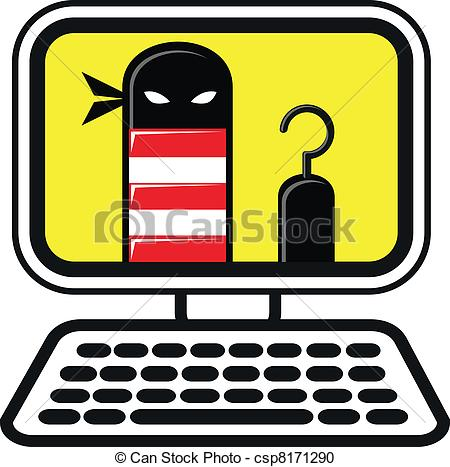 Cyber clipart cyber crime Crime a Abstract Technology