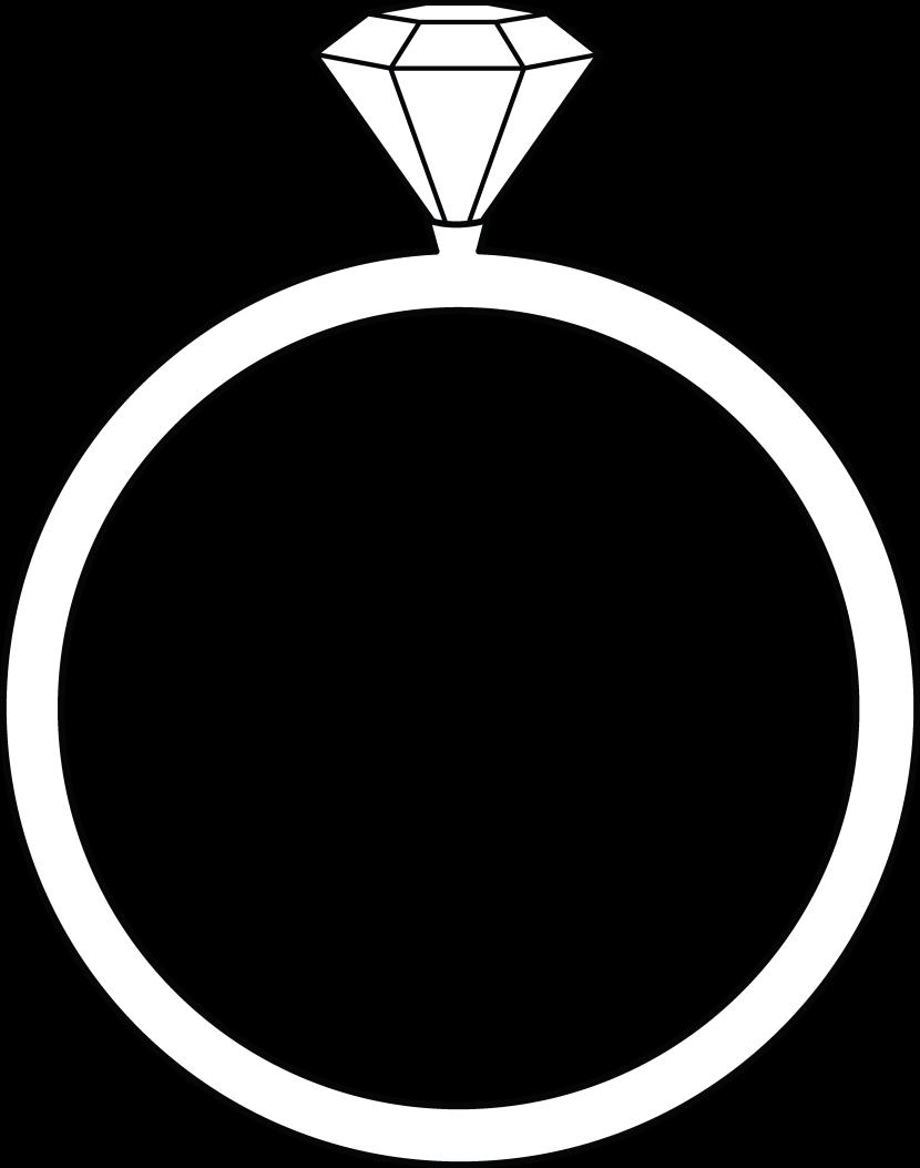 Ring clipart  clipart art Wedding clipart