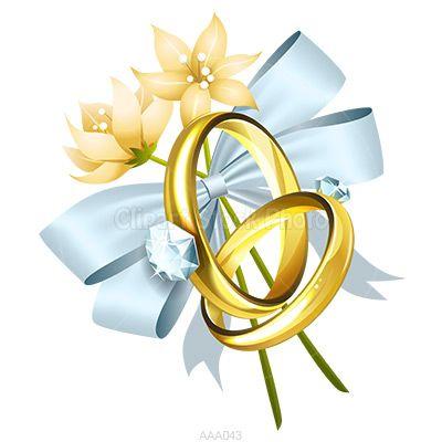 Ring clipart 25th wedding anniversary #1