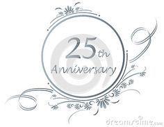 Ring clipart 25th wedding anniversary #2