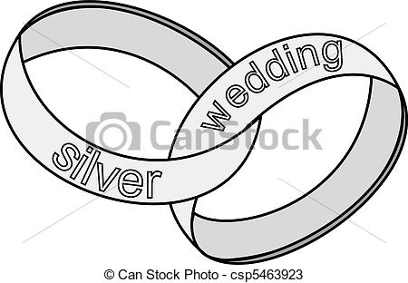 Ring clipart 25th wedding anniversary #5