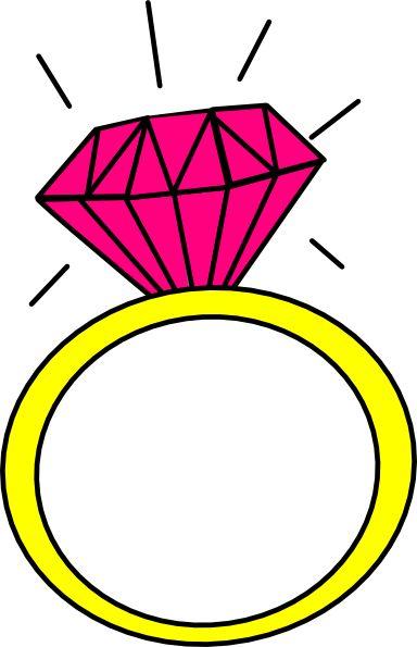 Ring clipart diamond sparkle #4 art Clipart ring clip
