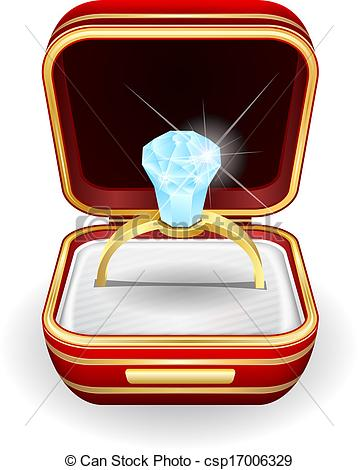 Diamond clipart ring box Compromiso Caja En IMGFLASH Anillo