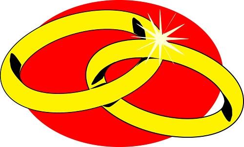 Ring clipart anniversary Rings Art Clip Anniversary Art