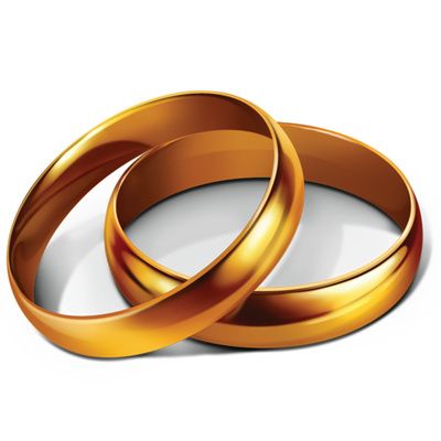 Ring clipart anniversary Anniversary Art Golden Golden Clip