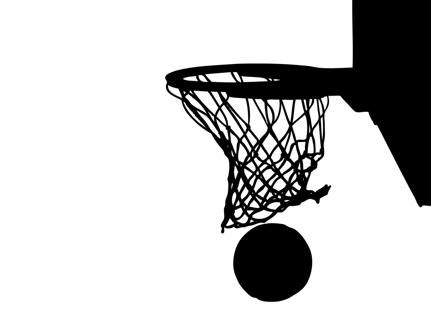 Playground clipart basketball goal Clipart #19952 Hoop Clipartsgram Ring