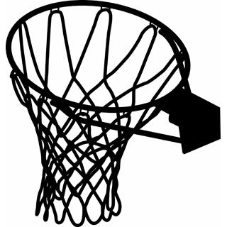 Drawing clipart basketball Hoop – 3 Basketball clip
