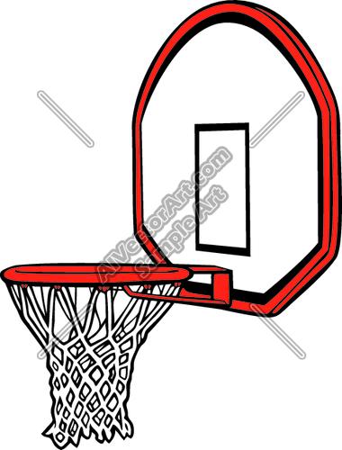 Basket clipart basketball hoop Clipart net Clipart Panda Basketball