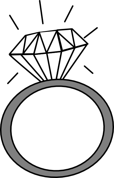 Diamond clipart engagement ring Diamond clipart 2 and ring