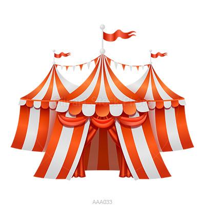 Carneval clipart big top (4+) Three tent Ring circus