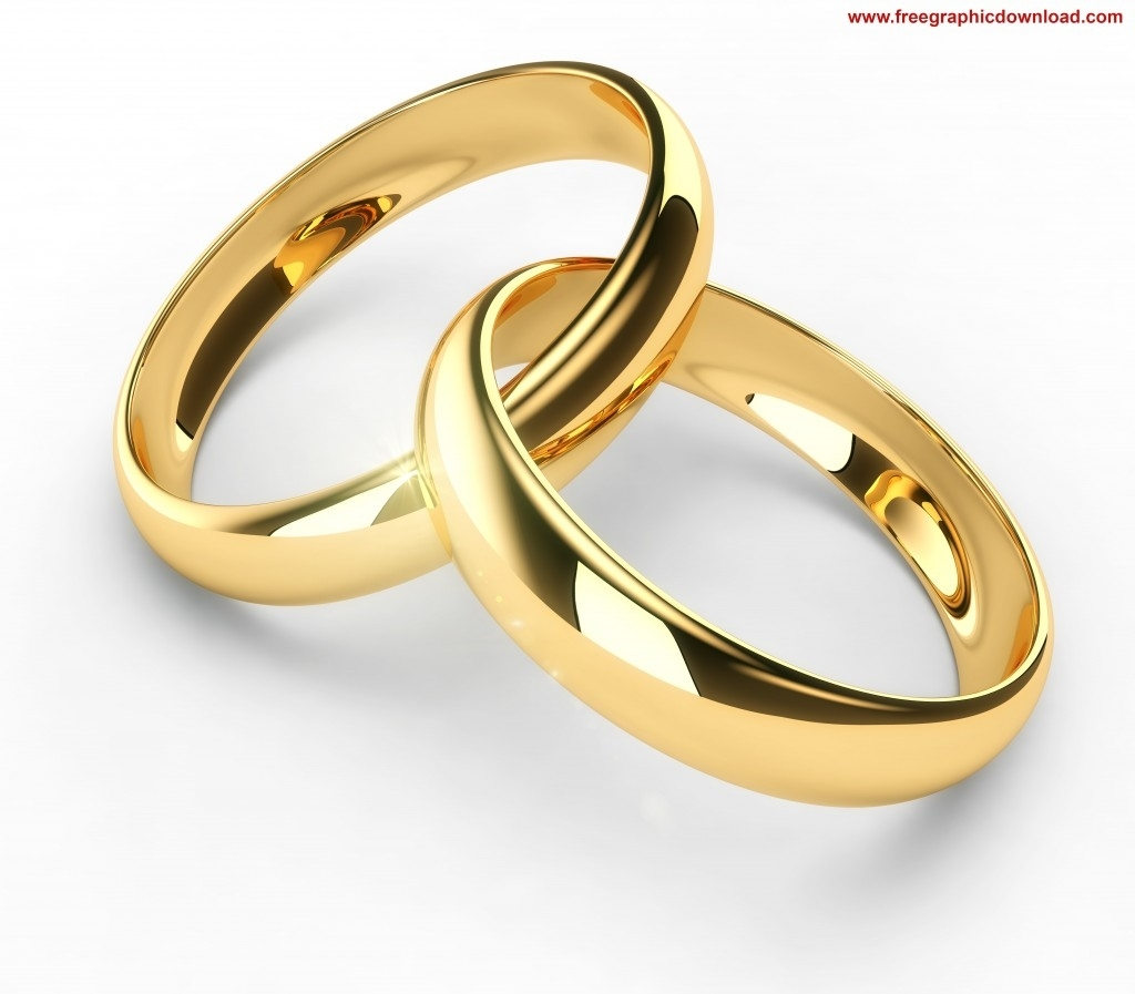 Ring clipart couple ring Gold Couple Wedding Clipart Golden