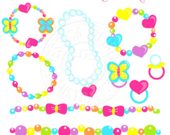 Necklace clipart for kid #2