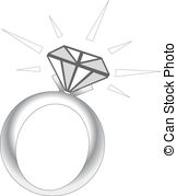 Ring clipart diamond sparkle Vector royalty free Sparkle Ring