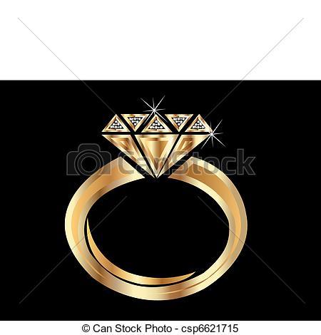 Ring clipart diamond sparkle Ring of csp10852341 EPS Vector