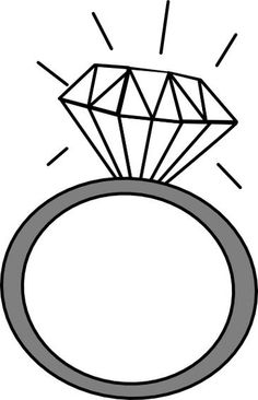 Ring clipart engaged 6 Art image Ring
