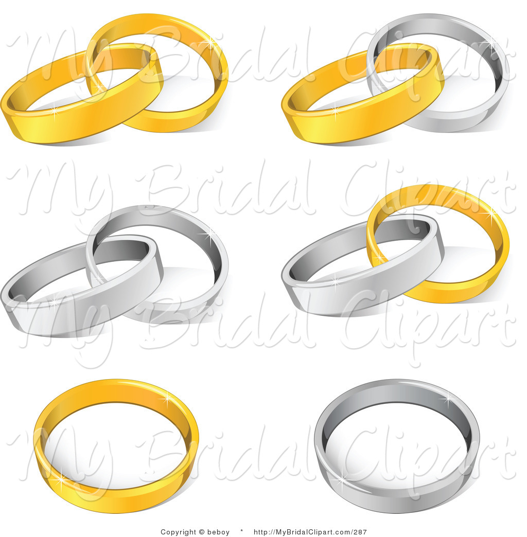Silver clipart interlocking ring Alone Stock Entwined Royalty Ring