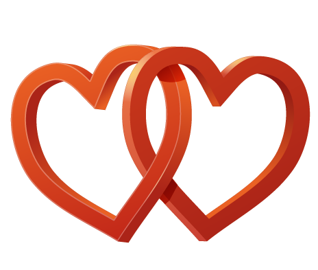 Wedding clipart two heart Wedding Art two Free Clip