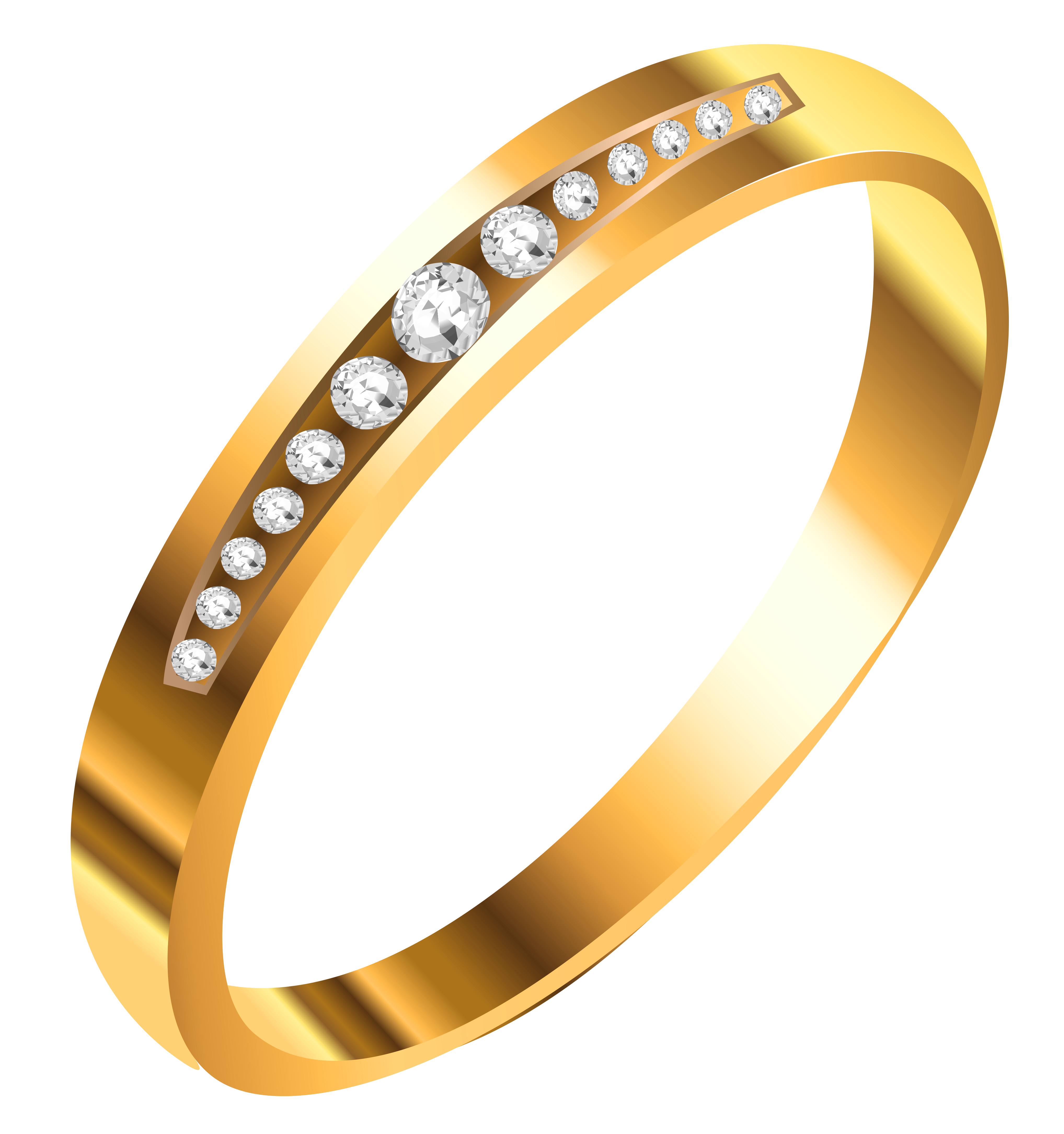Ring clipart gold necklace #7