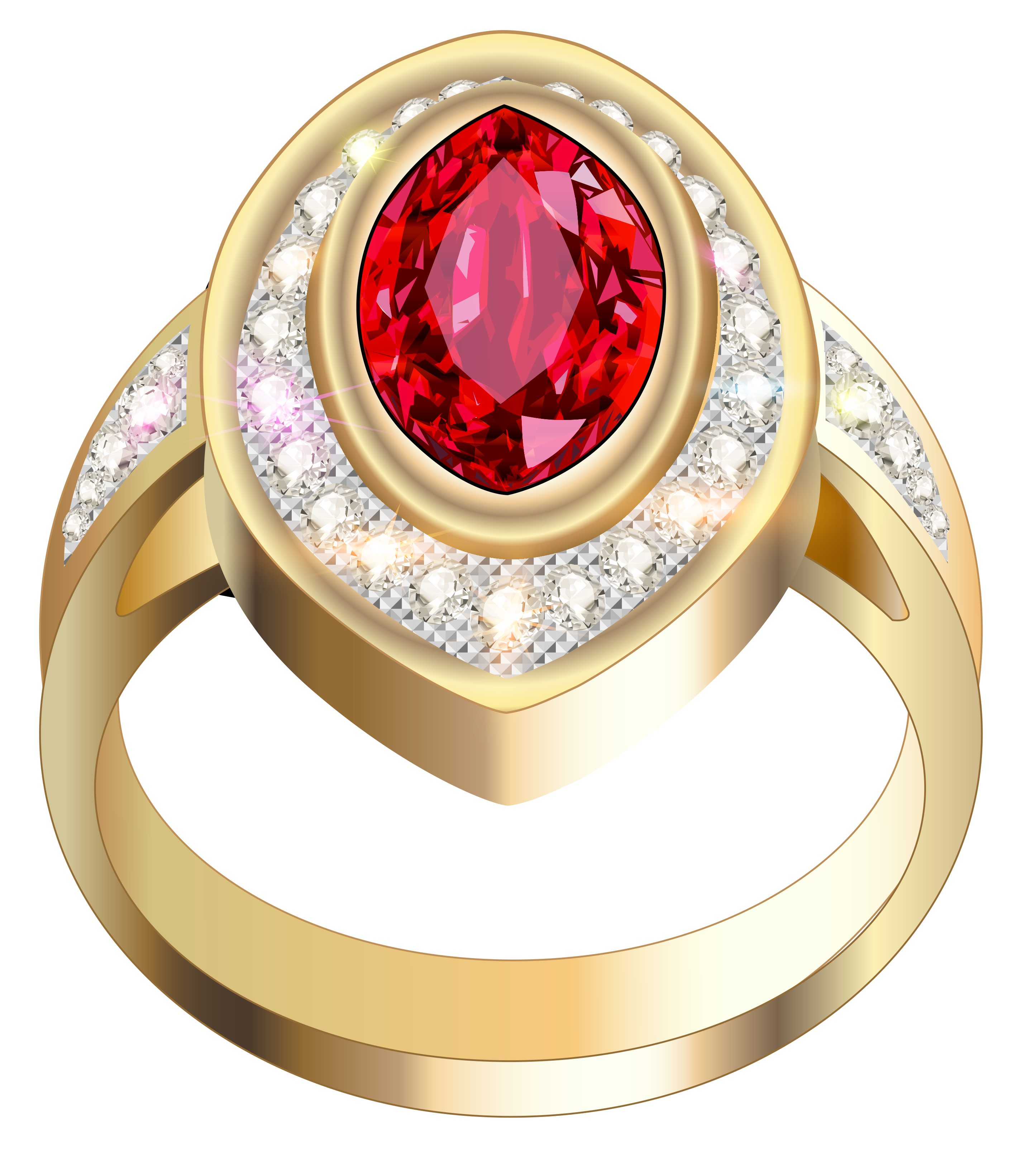 Ring clipart gold necklace #8
