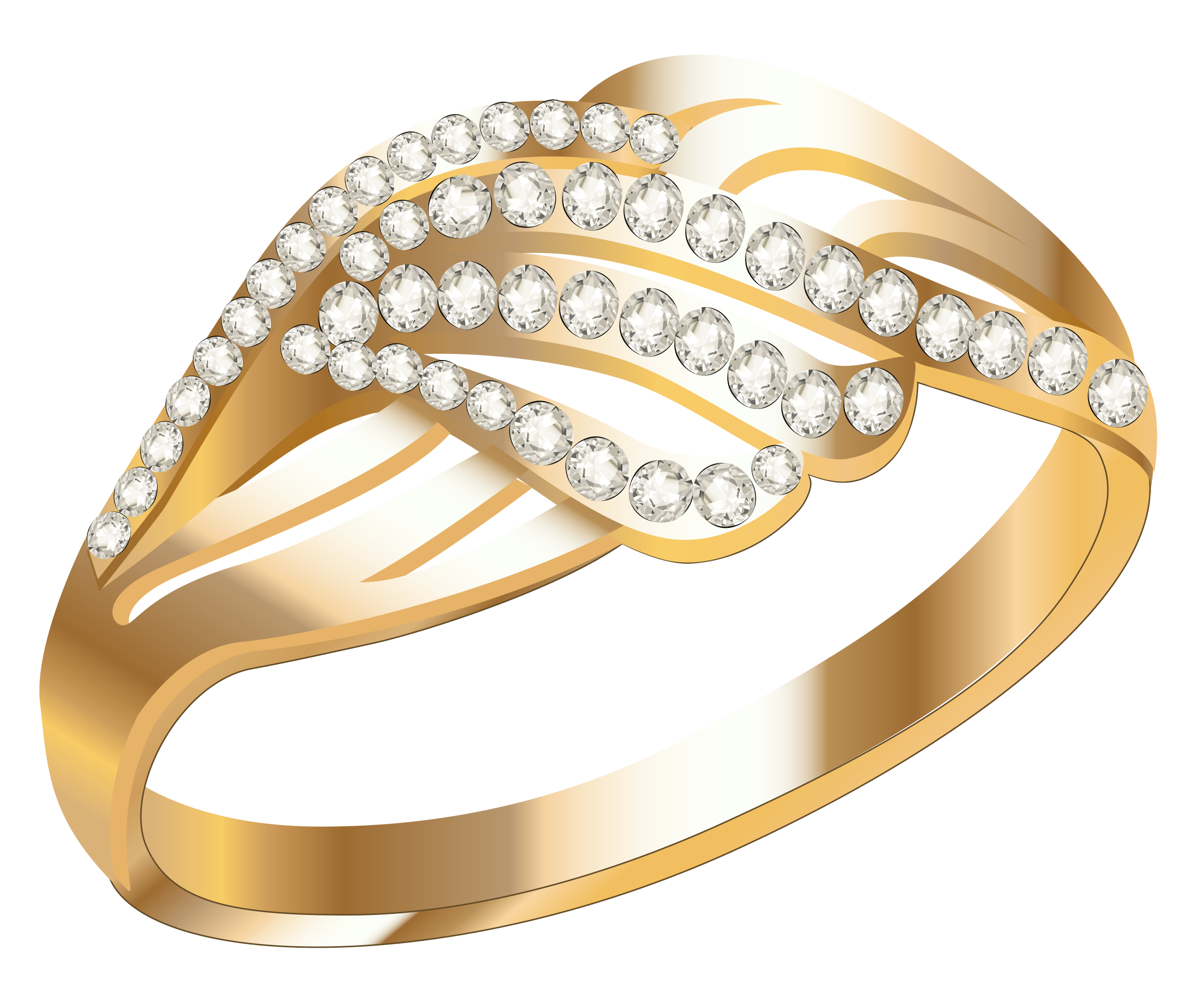 Ring clipart gold necklace #13