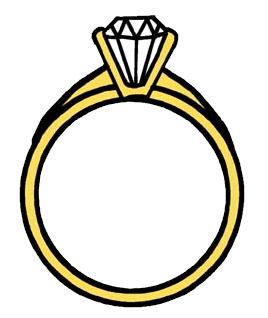 Ring clipart i do #9