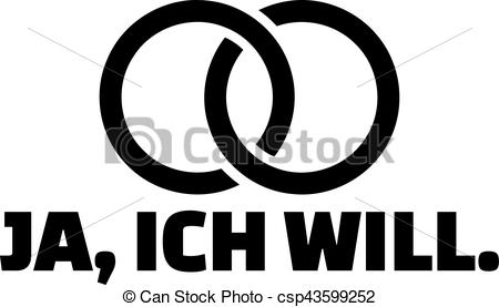 Ring clipart i do Ring with I german do
