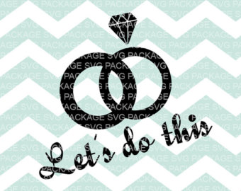 Ring clipart i do Etsy Ring Vector Let's Cutting