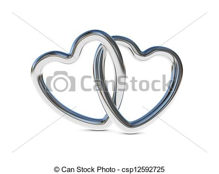 Ring clipart intertwined Rings art Intertwined Stock Intertwined