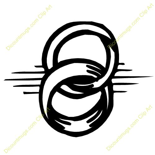 Ring clipart intertwined Clip intertwined Clipart Bands Interlocking